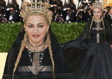 MADONNA Premiers 'Beautiful Game' at Met Gala!