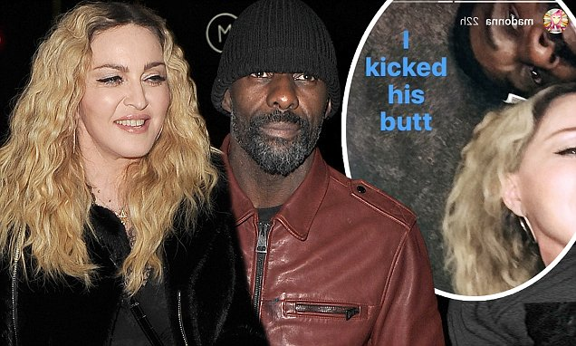 Wohoooo: Madonna and Idris Elba Intimately Party Together at London STEAKHOUSE! image