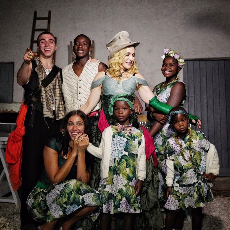MADONNA Shares First Photos of All Six Kids! image