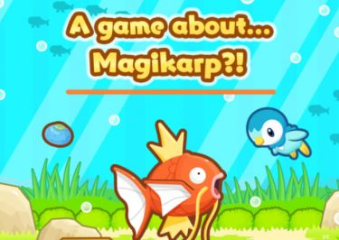 Pokémon Launch 'Magikarp Jump' Game