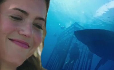 Mandy Moore EATEN BY SHARKS in '47 Meters Down' Trailer