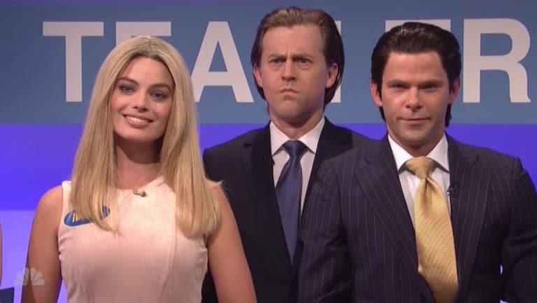 Margot Robbie Plays Ivanka Trump on SNL image