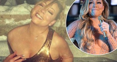 WASHING AWAY: Mariah Carey Takes Casual Dip in Aspen