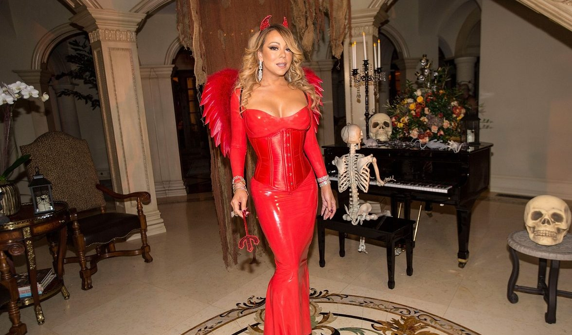Mariah Carey Celebrates Halloween Early With Ex-Husband and Kids