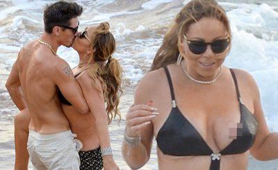 SO AWKWARD: Mariah Carey Gets Up Close & Personal With Bryan Tanaka in HAWAII!
