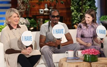Martha Stewart, Snoop Dogg, and Anna Kendrick Play NEVER HAVE I EVER on Ellen