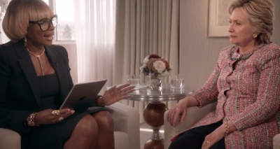 The 411: Mary J. Blige Awkwardly Interviews Hillary Clinton, Watch Here