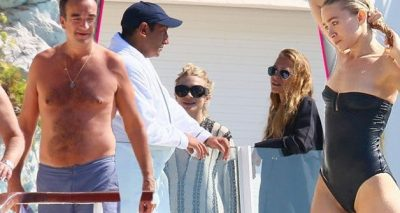 Mary-Kate Olsen Bares Skinny Bod in Bikini While on Vacation With Husband Olivier Sarkozy and Sister Ashley