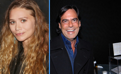 "Ashley Olsen's New Boyfriend is ""A VERY RICH, ANCIENT MAN"" – 58-YEAR-OLD RICHARD SACHS!"
