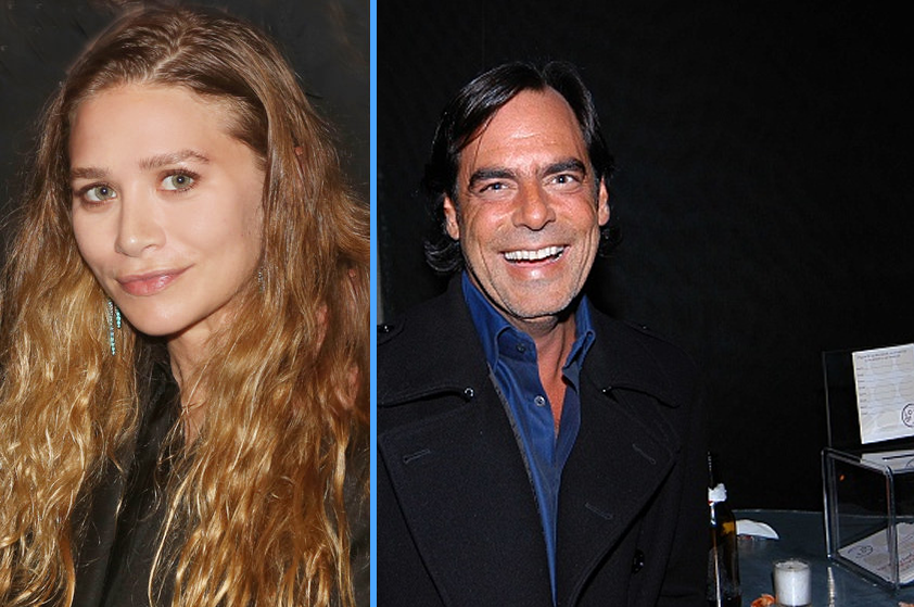 "Ashley Olsen's New Boyfriend is ""A VERY RICH, ANCIENT MAN"" - 58-YEAR-OLD RICHARD SACHS! image"