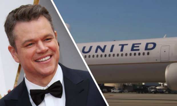 Matt Damon Gets KICKED OFF United Airlines! image
