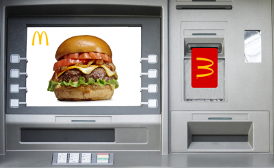 McDonalds Dispensing Big Macs Through ATM