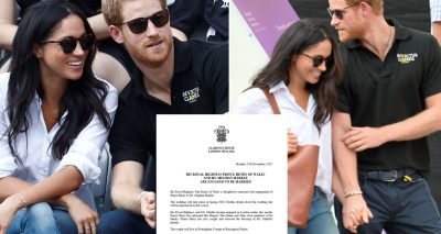 Prince Harry & Meghan Markle ENGAGED!