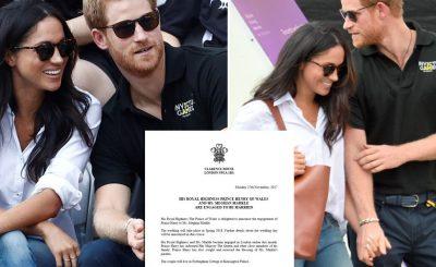 Prince Harry & Meghan Markle ENGAGED!