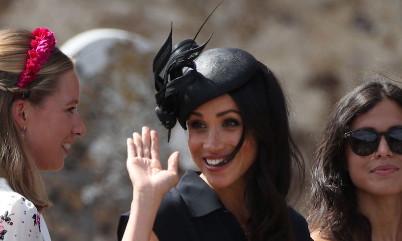 Meghan Markle Celebrated Her Birthday at a WEDDING! image