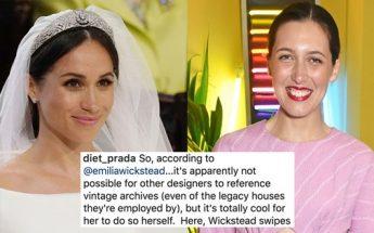 Designer Talks About Meghan Markle Wedding Dress CONTROVERSY!