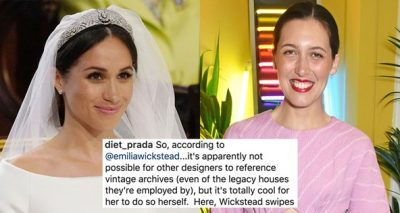 Designer Talks About Meghan Markle Wedding Dress CONTROVERSY!