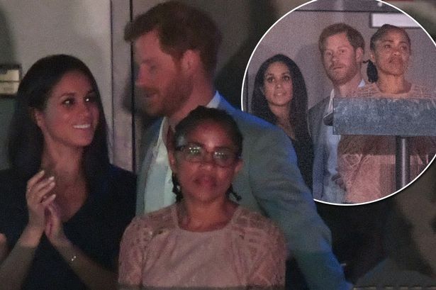 Meghan Markle's 61-Year-Old MOM Has Tea With the QUEEN! image