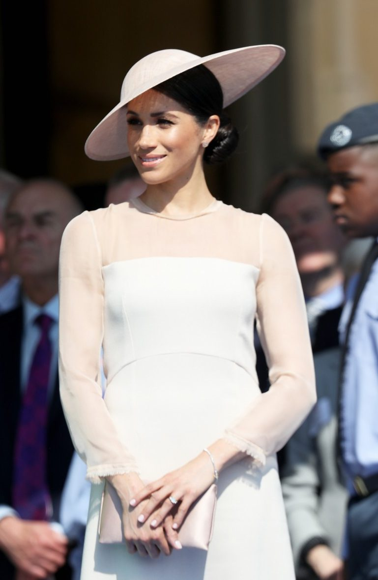DUCHESS Meghan Markle Makes First Public Appearance With Prince Harry! image