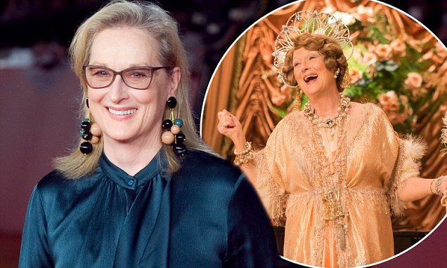 Meryl Streep Reacts to OSCAR Nominations With Hilarious GIF image