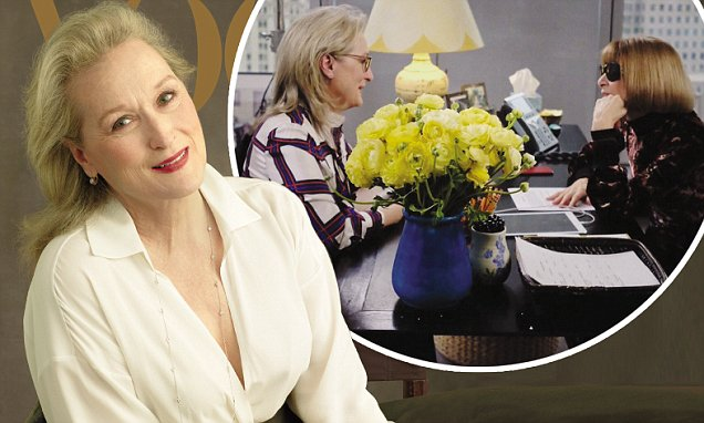 Anna Wintour and Meryl Streep Chat in New Video image