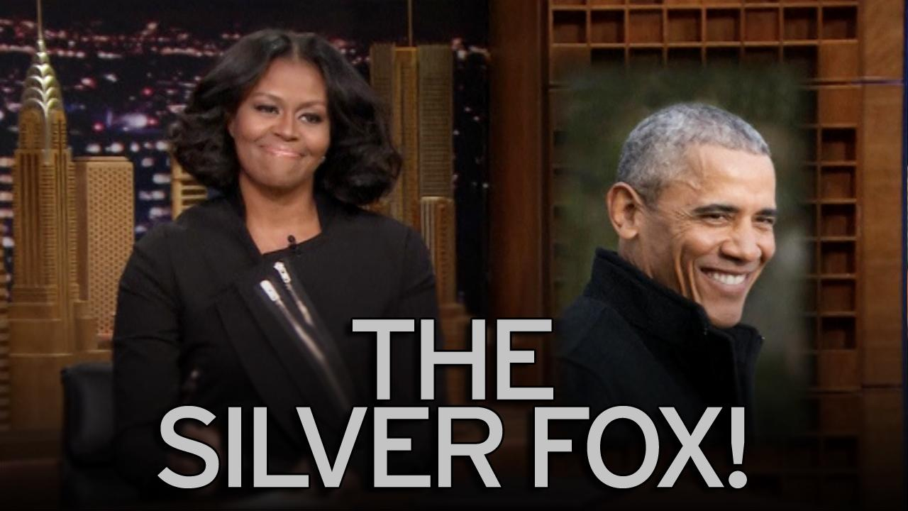 "Michelle Obama Surprises Fans On 'The Tonight Show' , Calls Barack ""A SILVER FOX"""