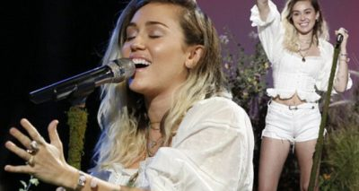 Miley Cyrus Performs 'Malibu' on 'The Voice'