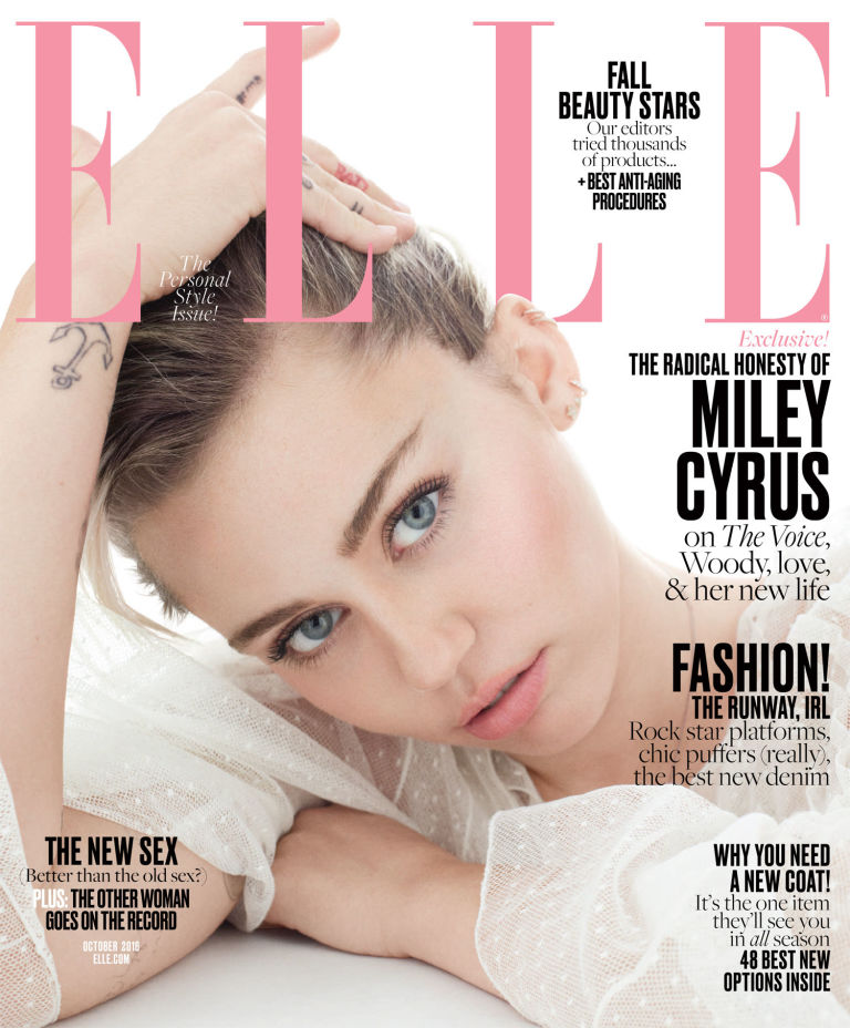 Miley Cyrus Elle Cover Story: Says She Will Never Do Another Red Carpet Again