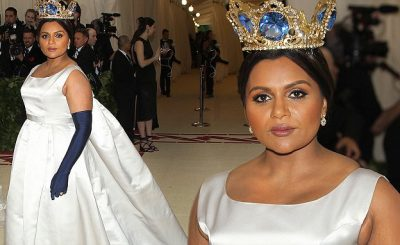 UNETHICAL: Mindy Kaling PRETENDED She Had a Date to the Met Gala!