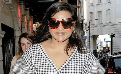 Mindy Kaling Wears Checkers While Walking to Important Appointment!
