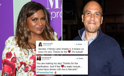 Mindy Kaling Going Out on Date With a SENATOR!