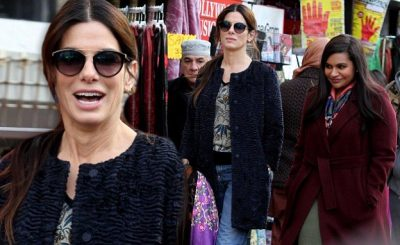 Mindy Kaling and Sandra Bullock Film Secret 'OCEAN'S EIGHT' in Queens!