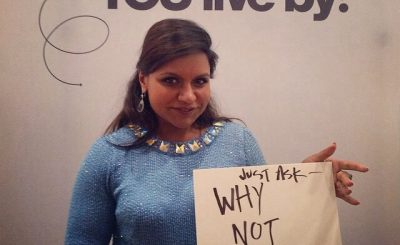 Mindy Kaling: NYC Promo of WHY NOT ME??!