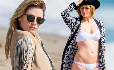 "Mischa Barton Says That She Was ""SO GLAD"" To Get Kicked Off Dancing With the Stars!"