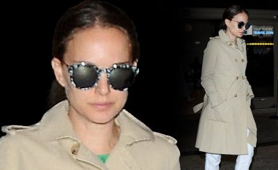 PREGNANT AND UNDERCOVER: Natalie Portman Covers Up After TIFF