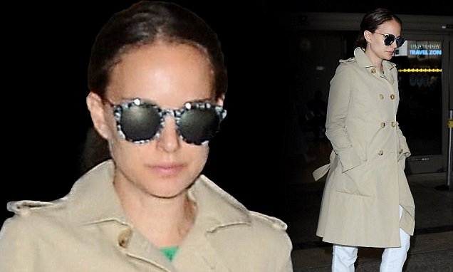 PREGNANT AND UNDERCOVER: Natalie Portman Covers Up After TIFF  image