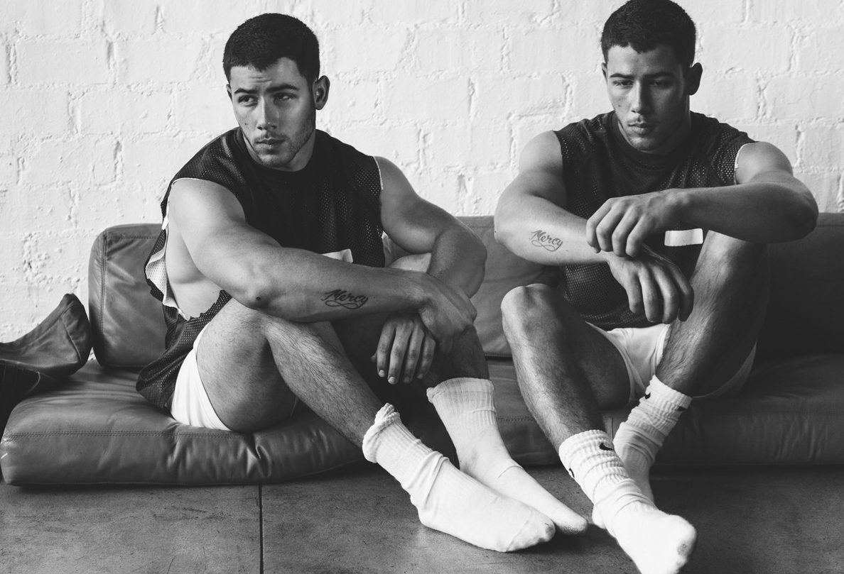 Nick Jonas, Biceps on Display For WONDERLAND Magazine image