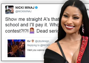 Nicki Minaj Pays Fans' College TUITION!