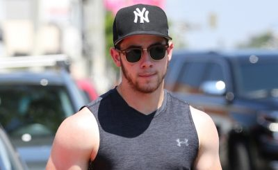 Nick Jonas Shows Off His 'Farmer's' Tan