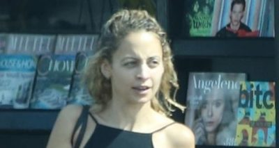 NICOLE RICHIE WITHOUT MAKEUP Runs Some Errands
