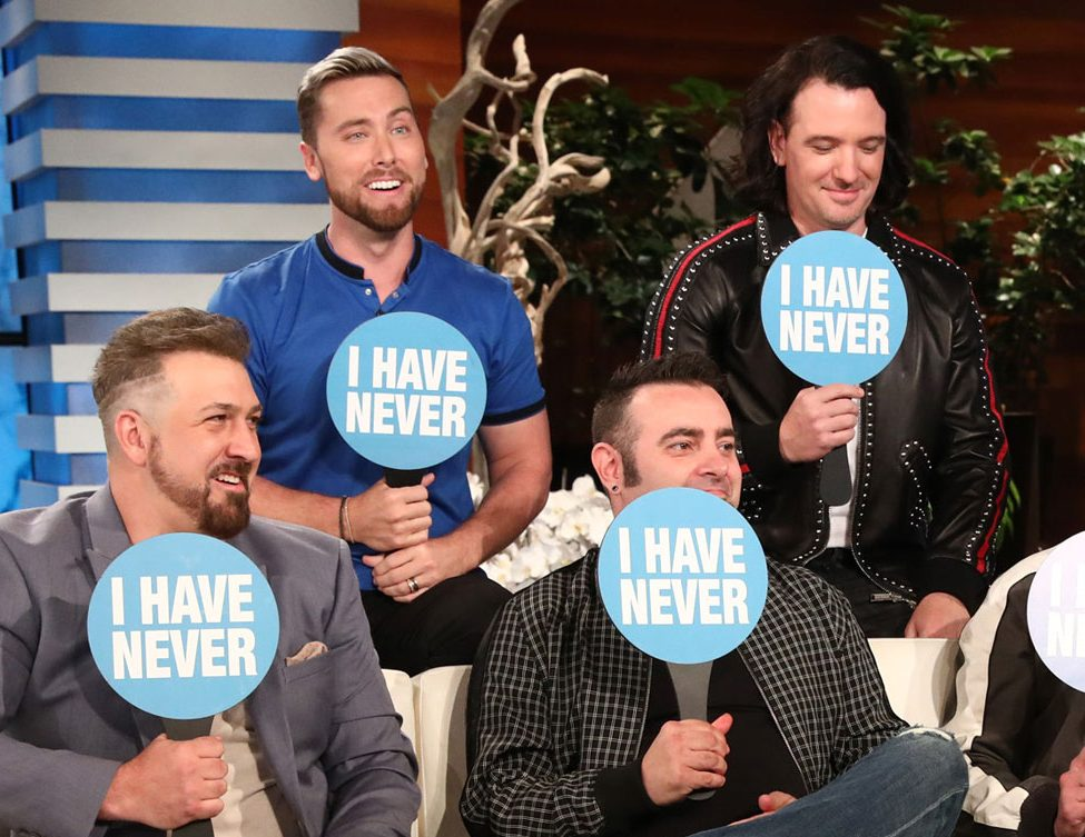 NSYNC Goes on Ellen, Plays'Never Have I Ever'