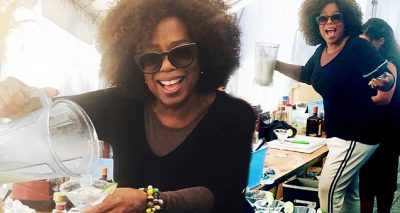 Oprah Bartends Party – Serves Up TEQUILA for Tipsy Mindy Kaling & Reese Witherspoon