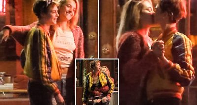 Paris Jackson Kisses Cara Delevingne During Dinner With Macaulay CULKIN and Brenda Song
