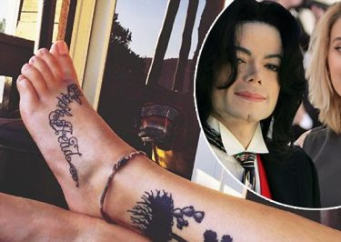 Applehead: Paris Jackson Gets a New TATTOO To Honor Late Father Michael Jackson