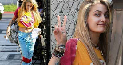 PARIS JACKSON Debuts New Blonde Hairdo!