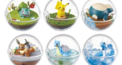 Pokéball Terrariums Released as Official Merchandise!