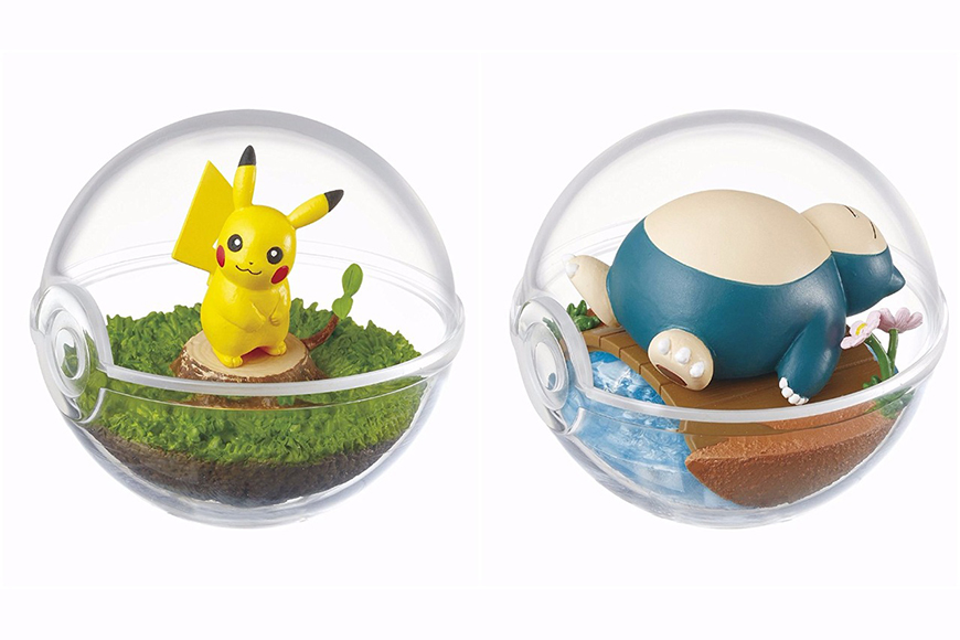 Pokéball Terrariums Released as Official Merchandise! image