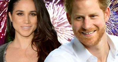 PLAYING THE FUTURE? Prince Harry Celebrates Wedding With Meghan Markle