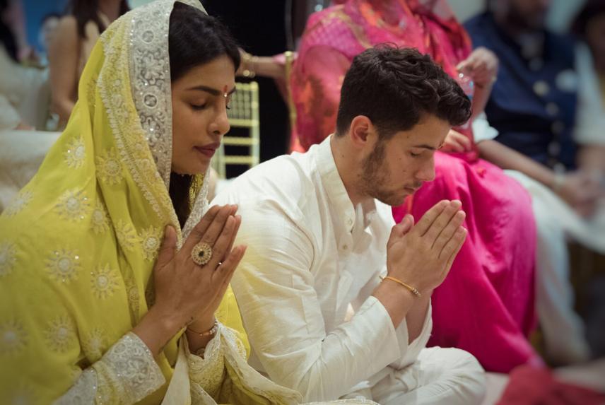 Priyanka Chopra Shares Nick Jonas PUJA Engagement Party Photos image