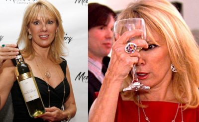 JUST ANOTHER DAY: 'Real Housewife' Ramona Singer Thrown Out of Dinner Party!